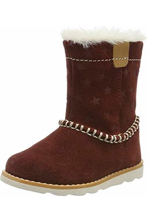 Clarks Girls' Crown Piper T Slouch Boots, Dark
