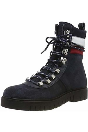 Tommy Hilfiger Women's Padded Nylon Lace Up Boot Ankle