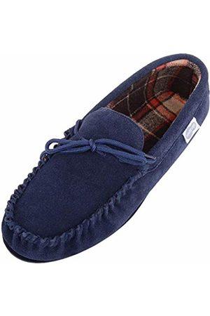 Snugrugs Men's George Low-Top Slippers, Navy
