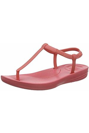 FitFlop Women's Iqushion Splash Flip Flops, (Bubblegum 736)