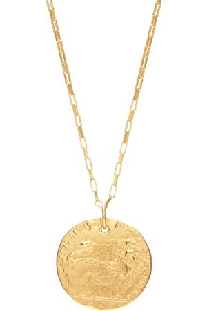 Alighieri Il Leone 24kt -plated Necklace - Mens