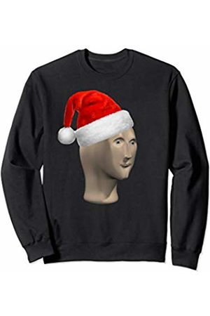 The Best Christmas Gifts Christmas Meme Man Santa Hat Xmas Memes Sweatshirt