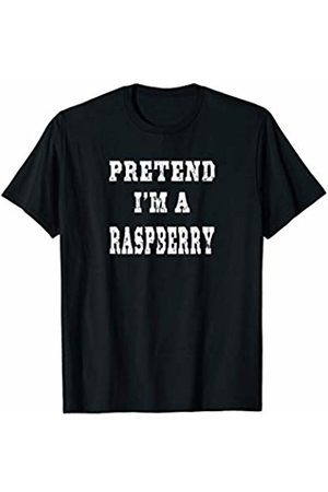 The Easy Halloween Costume Co. Pretend I'm a Raspberry Funny Halloween Costume T-Shirt