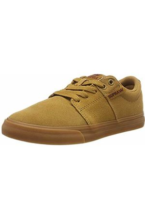 Supra Unisex Adults' Stacks Ii Vulc Skateboarding Shoes, (TAN/ -LT Gum-M 260)