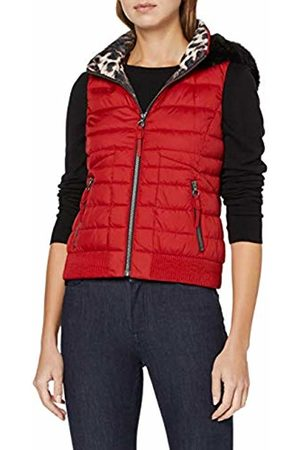 Taifun Women's 440283-11735 Outdoor Gilet, (Cranberry 6020)