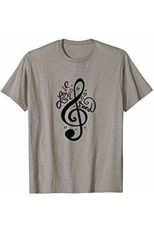 SnuggBubb I love band art band class designs band T-Shirt