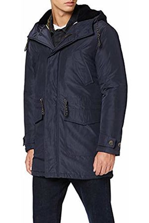 Selected Homme Men's Slhdean Parka W Coat, Dark Sapphire