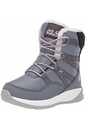 Jack Wolfskin Unisex Kids' Polar Wolf Texapore High K Wasserdicht Snow Boots, (Pebble /Off- 6514)