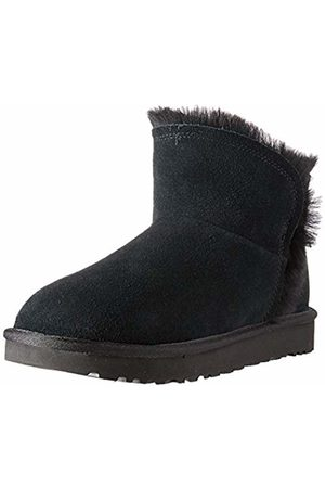 UGG Women's W Classic Mini Fluff HIGH-Low Ankle Boots