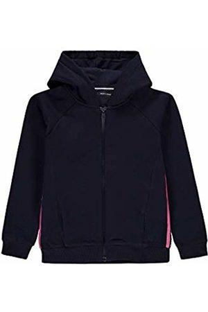 Marc O' Polo Kids Girls' Sweatjacke 1/1 Arm Track Jacket, (Night Sky|