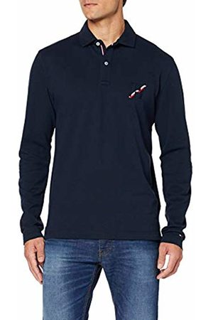 Tommy Hilfiger Men's Basic Badge Ls Regular Polo Shirt