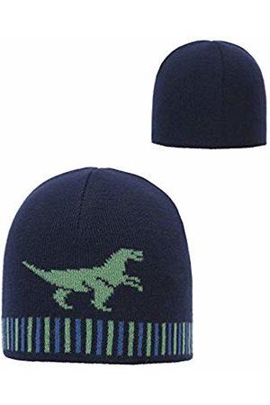 Döll Boy's Topfmütze Zum Wenden Strick Hat, (Navy Blazer|
