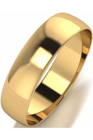 Love GOLD 10Ct D Shape 5Mm Wedding Band