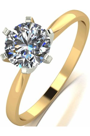 Moissanite 18 Carat 1 Carat Solitaire Ring