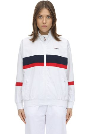 Fila Logo Zip-up Nylon Track Jacket
