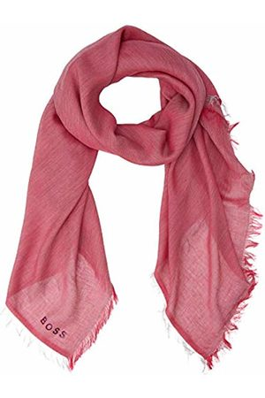 HUGO BOSS Women's Nalu_2 Scarf, (Bright 672)