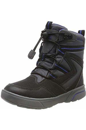 Geox Boys' J Sveggen B ABX D Snow Boots, ( /Royal C0245)