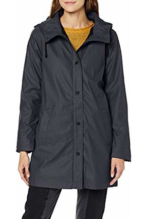 Only Women's Onlvanessa Sherpa Raincoat Cc OTW Rain Jacket, Night Sky