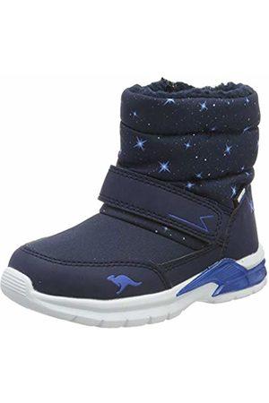 KangaROOS Unisex Kids' Icerush Sl Snow Boots, (Dk Navy/Brilliant 4206)