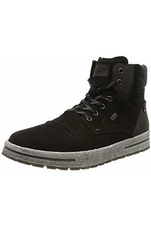 Rieker Men's Herbst/Winter Classic Boots, Moro/Granit/Schwarz 01