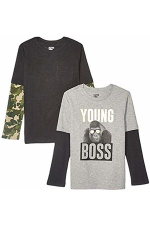 Spotted Zebra 2-pack Long-sleeve 2-in-1 T-shirts Young Boss