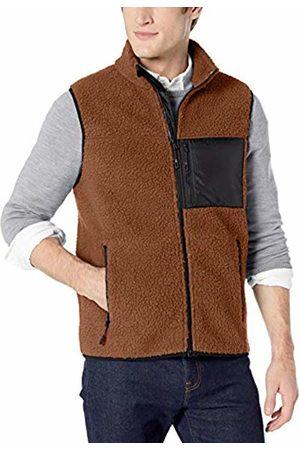 Goodthreads Sherpa Fleece Vest Tan