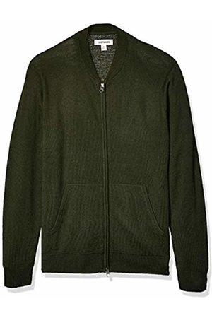 Goodthreads Merino Wool Bomber Sweater Olive