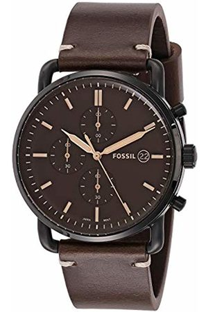 Fossil Men's Analogue Quartz Watch with Leather Strap FS5403