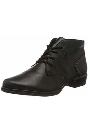Rieker Women's Herbst/Winter Ankle Boots, Schwarz 01