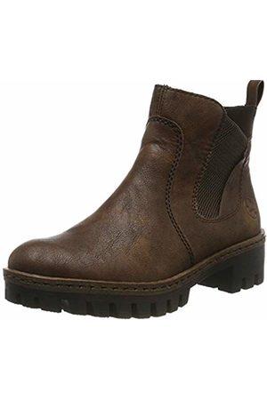 Rieker Women's Herbst/Winter Chelsea Boots, (Mogano/ 25)
