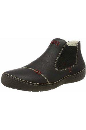 Rieker Women's Herbst/Winter Chelsea Boots, Schwarz 00