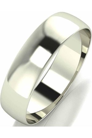 Love GOLD 9 Carat D Shape Wedding Band 5 Mm