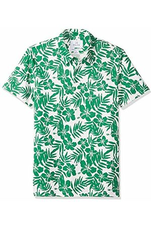 28 Palms Relaxed-Fit Hawaiian Performance Pique Polo Shirt / Floral