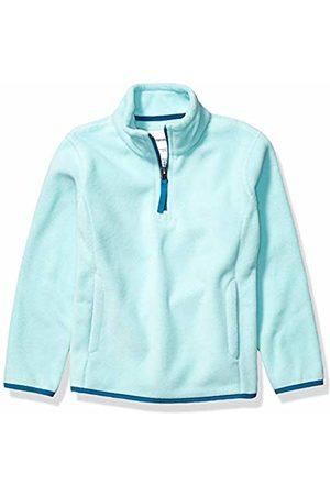 Amazon Quarter-zip Polar Fleece Jacket Aqua