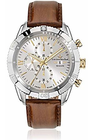 LUCIEN ROCHAT Mens Chronograph Quartz Watch with Leather Strap R0471603005
