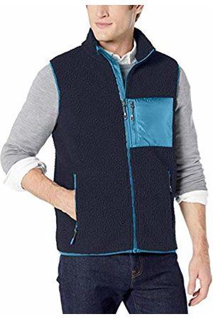 Goodthreads Sherpa Fleece Vest Navy