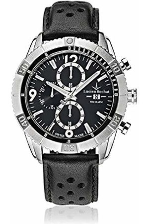 LUCIEN ROCHAT Mens Chronograph Quartz Watch with Leather Strap R0471603006