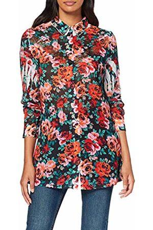 Guess Women's Ls Clouis Shirt Casual