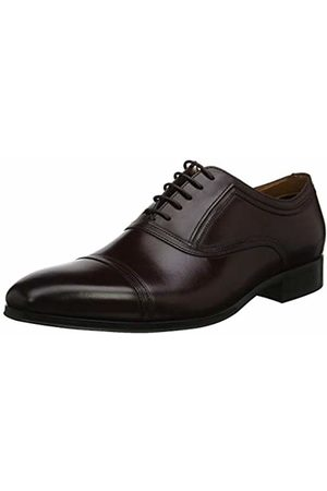 Dune Men's Summers Oxfords, Burgundy-Leather