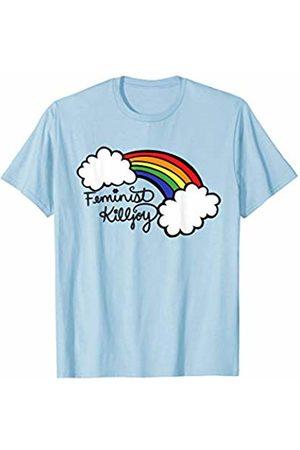 SnuggBubb Feminist Killjoy rainbow T-Shirt