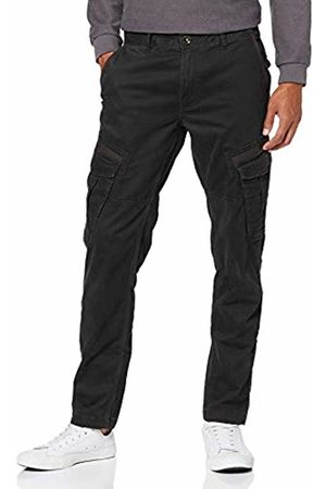 JP 1880 Men's Cargo Hose, Tapered Loose, Garment Dyed - N Trouser