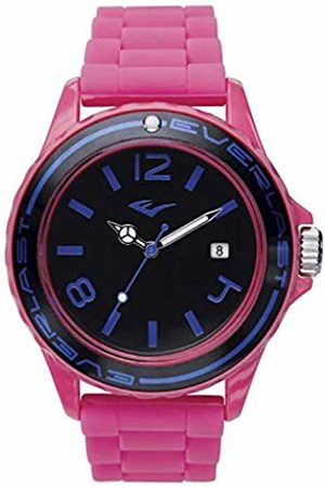 Everlast Unisex Adult Analogue Quartz Watch with Silicone Strap EVER33-214-004