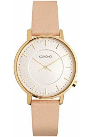 KOMONO Women's Analogue Quartz Connected Watch with Leather Strap KOM-W4106