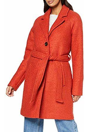 Vila NOS Women's Vialanis Trenchcoat/su-Noos Coat, Ketchup