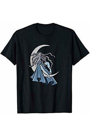 SnuggBubb Moon Goddess Art Pagan Pride Triple Moon T-Shirt