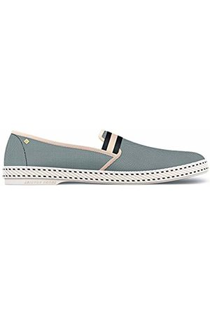 RIVIERAS Unisex Adults' College Blackish Espadrilles, (Noir 91)