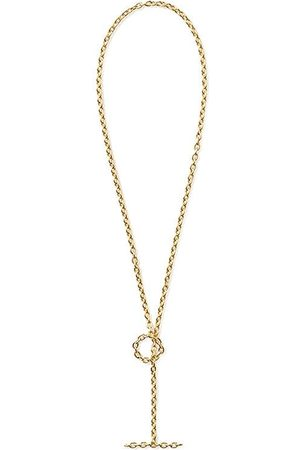 SHIHARA 18kt yellow gold chain bracelet - Metallic