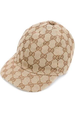 Gucci Supreme monogram cap - Neutrals