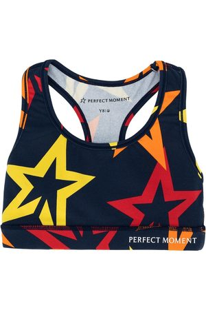 Perfect Moment Girls T-shirts - Star print fitness top