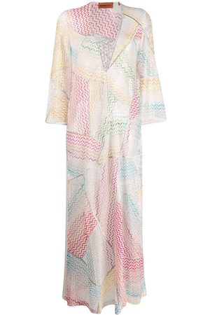 Missoni Women Printed Dresses - Wave pattern beach dress